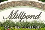 Millpond community sign
