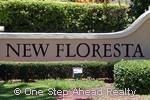New Floresta community sign