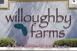 Willoughby Farms community sign